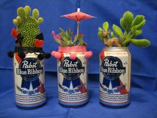 Beer Can Flower Pot