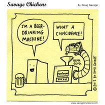 Beer Drinking Comic