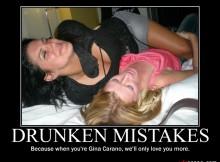 Drunken Mistakes
