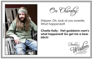 Charlie Kelley (Charlie Day) on Chivalry