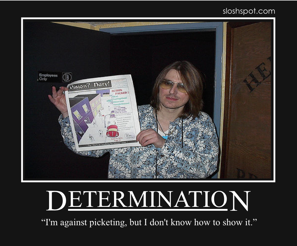 03 Mitch Hedberg on Determination mitch hedberg motivational posters beer humor fun sloshspot com,Mitch Hedberg Memes