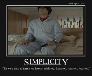 Demetri Martin on Simplicity