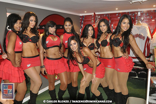 Venezuelan baseball Cheerleaders