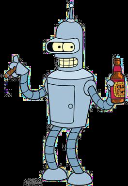 Bender Futurama Beer