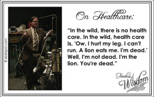 Dwight Schrute on Healthcare