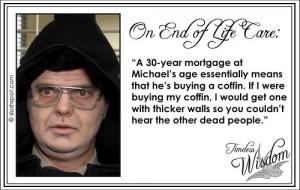 Dwight Schrute on End Of Life Care