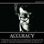 Kurt Vonnegut on Accuracy