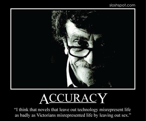 Kurt Vonnegut on Accuracy