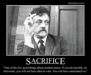 Kurt Vonnegut on Sacrifice