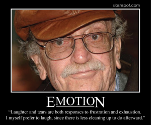 Kurt Vonnegut on Emotion