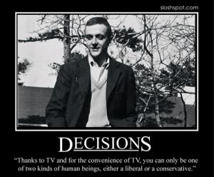Kurt Vonnegut on Decisions