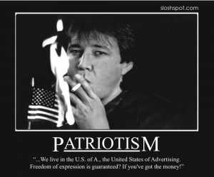 Bill Hicks on Patriotism