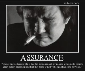 Bill Hicks on Assurance