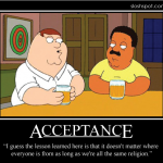 Peter Griffin on Acceptance