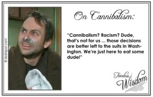 Charlie Kelley (Charlie Day) on Cannibalism