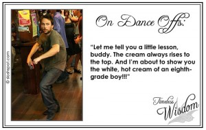 Charlie Kelley (Charlie Day) on Dance Offs
