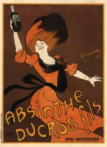 Absinthe Poster - Ducros Fils Triple Rectification