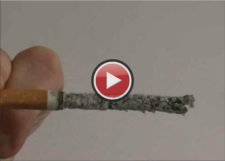 The Ash-less Cigarette