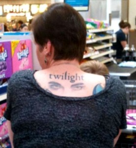 Awful Tattoos - The Twi-Hard