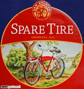 Beer Label - Spare Tire