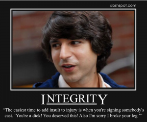Demetri Martin on Integrity