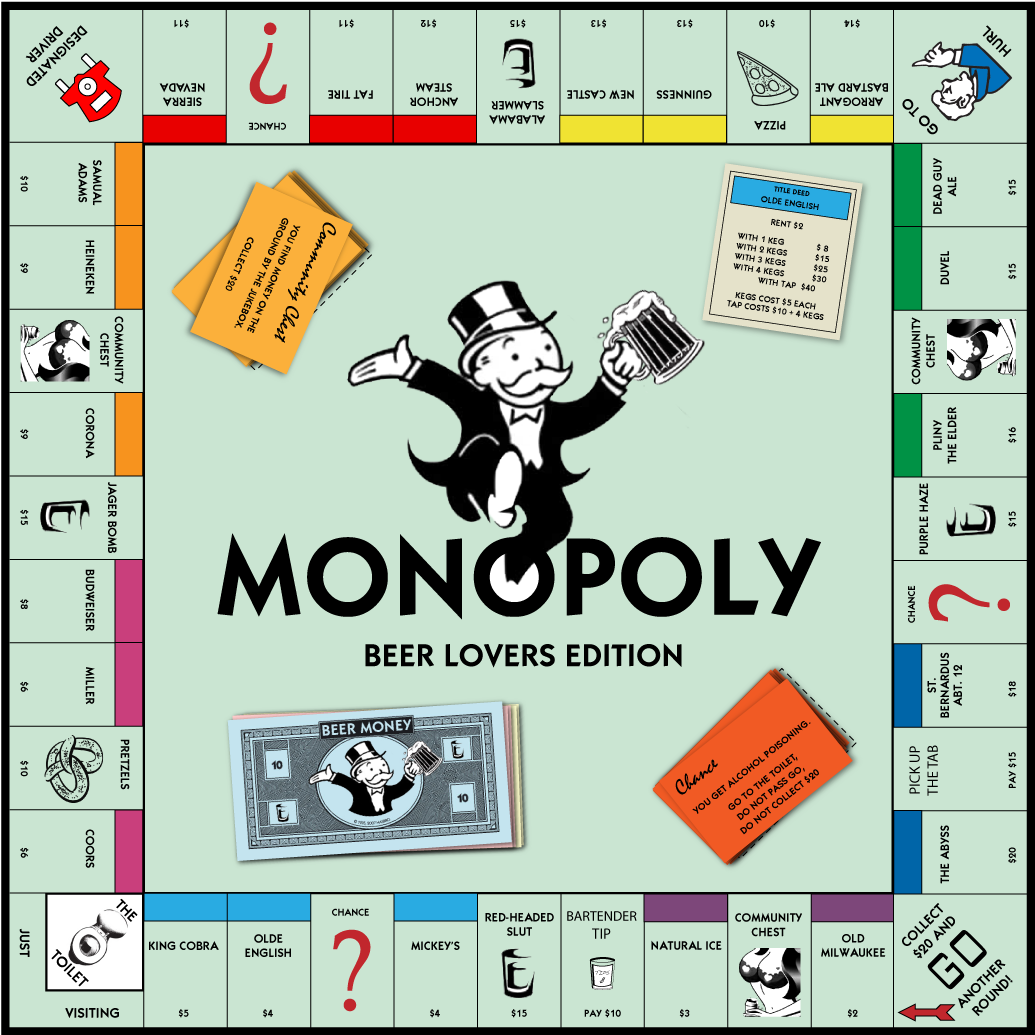 Monopoly Beer Lovers Edition