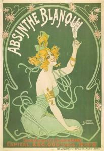 Absinthe Poster - Blanqui