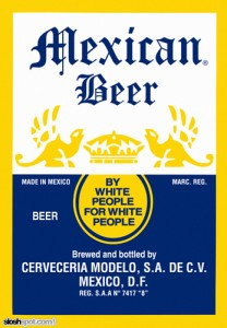 Beer Label - Mexican Beer
