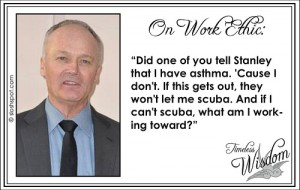 Creed Bratton on Work Ethic