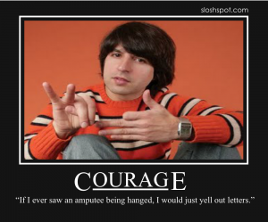Demetri Martin on Courage
