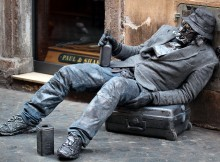 Why It Would Suck To Be a Busker - Drunk Hobo