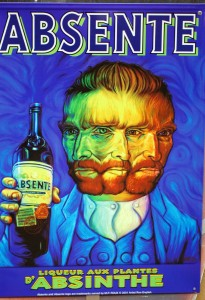 Absinthe Poster - Liqueur Aux Plantes