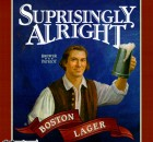 Beer Label - Surprisingly Alright Boston Lager