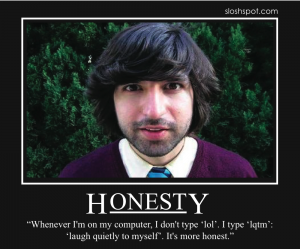 Demetri Martin on Honesty