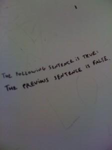 Bathroom Graffiti - True or False