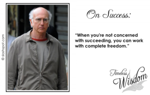 Larry David on Success