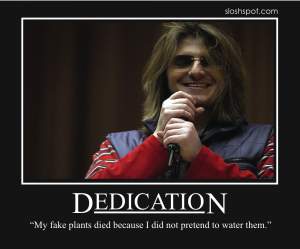 Mitch Hedberg on Dedication