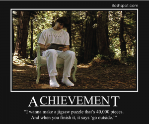 Demetri Martin on Achievement
