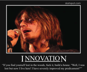 Mitch Hedberg on Innovation