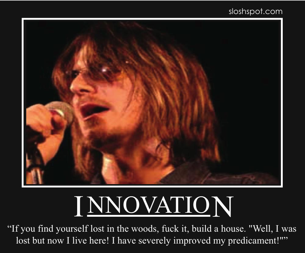 Mitch Hedberg on Innovation
