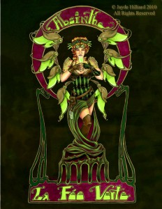 Absinthe Poster - La Fee Verte