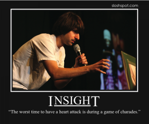 Demetri Martin on Insight