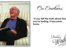 Larry David on Emotions