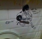 Bathroom Graffiti - John Connor