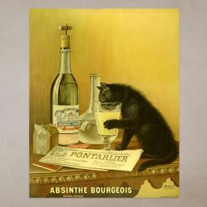 Absinthe Poster - Bourgeouis