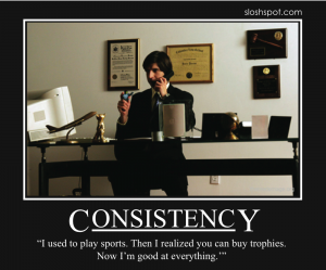 Demetri Martin on Consistency