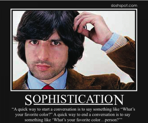 Demetri Martin on Sophistication