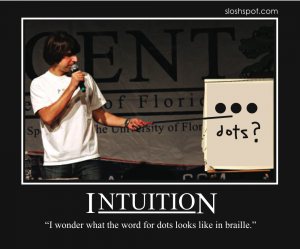 Demetri Martin on Intuition