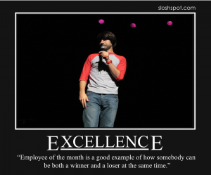 Demetri Martin on Excellence
