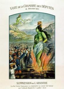 Absinthe Poster - Vote De La Chambre Des Deputes